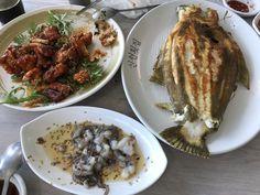 Fish - Eel - Sannakji  #jagalchifishmarket #kfood #busan