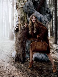 Lindsey Wixson by Tim Walker for Mulberry Fall 2012