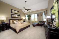 Love Everything About this Master Bedroom