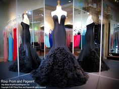 Get yourself a couture mermaid that is as elegant as it gets, from its deep sweetheart neckline to its fitted skirt detailed with ruffles for texture, it is a true red carpet dress, and it's at Rsvp Prom and Pageant, your source of the HOTTEST Prom and Pageant Dresses!