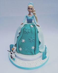 Frozen Princess Elsa cake on Cake Central