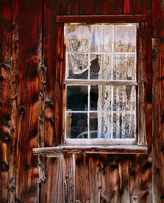 Window and old lace