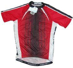 5e6f22051 Amazon.com  Men s Sublimated Print Race Cut Short-Sleeve Biking Cycling  Jersey (Blue