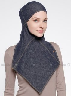 The perfect addition to any Muslimah outfit, shop Capsters's stylish Muslim fashion Jeans Casual Headwear - Dark Blue. Find more Instant Scarf at Modanisa! Casual Jeans, Jeans Style, Muslim Fashion, Hijab Fashion, Hoodie Pattern, Sport Wear, Dresses Online, Dark Blue, Head Wraps
