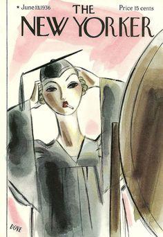 - Обложки журнала «The New Yorker» за 1936 год