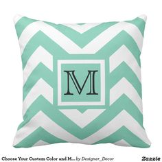 Choose Your Custom Color and Monogram Initial