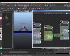maya 3D matrix vector animation
