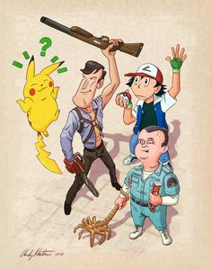 """""""Too Many Ahes""""  How can poor Pikachu find the right Ash?"""