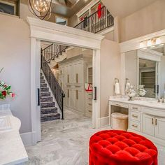 When Your Master Bath Leads To A Two Story Walk In Closet By Jordan Wheatley Custom