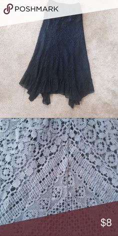 ✨Lace Ankle Skirt✨ S🌹NO signs of wear or tear// NEVER worn🌹I accept reasonable offers and bundle sets Skirts Maxi