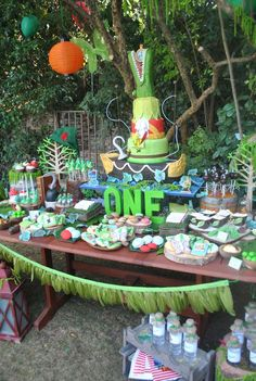 Fantastic Peter Pan birthday party! See more party ideas at CatchMyParty.com!