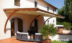 Terrassendach oder nicht - Wetterschutz & Sonnenschutz einmal anders. So macht Urlaub auf der eigenen Terrasse Spaß. Fest, aber ohne Baugenehmigung.