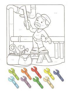 Materiale didactice pentru  copii,parinti ,educatori si invatatori.Creionasul cel istet impreuna cu prietenii sai va ofera numai lucruri frumoase! Community Helpers, Print Pictures, Math Activities, Kindergarten, Family Guy, Comics, School, Children, Painting