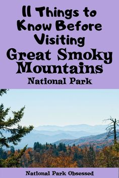 Smoky Mountains Hiking, Great Smoky Mountains, Canada Travel, Travel Usa, Tennessee Vacation, Gatlinburg Tennessee, Best Campgrounds, Mountain Vacations, Smoky Mountain National Park