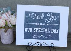 https://www.tradesy.com/weddings/wedding-decorations/light-blue-denim-look-wedding-signs-will-be-perfect-for-a-burlap-lace-and-denim-wedding-2032004/  #blue #bluewedding #bluethemedwedding #weddingdecor #denim #rustic #wedding #cute #classy  #thankyou #love #family #wedding