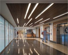 Linear Hospital Interior
