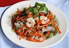 Nộm dưa chuột cà rốt tôm thịt