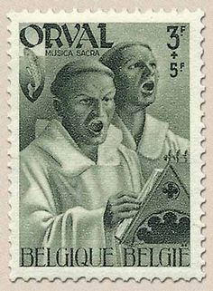 """1941, Série """"Quatrième Orval"""", 566 - 3F + 5F - Musique"""