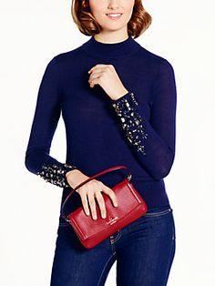cobble hill niccola, dynasty red by Kate Spade