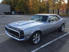 1968 Chevrolet Camaro SS - Everyone loves vintage muscle!