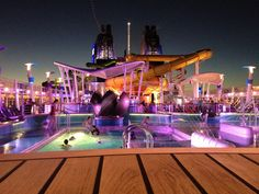 #7:   Busy Bodies: Take a Cruise $  Cruises are a blast.  There are more entertainment options than you'll be able to accomplish.  Shows, pools, casino, spa, onboard activities and classes, fancy dinners, and more.  AND, that list doesn't even include all your options when you pull into port each day!