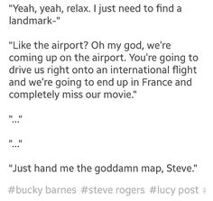 Imagine Bucky tumblr: getting lost in New York 2/2