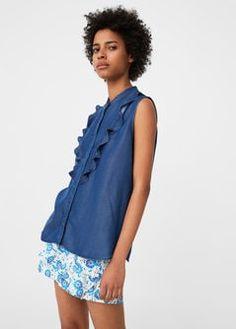 http   shop.mango.com FR p0 femme vetements chemise tops top-denim-tencel  id 83017606 TO n 1 s prend b50cc0d46d53