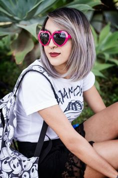 OOTD: Paramore & Grey Hair 💀 - Relíquias da Lara