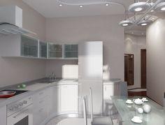Дизайн интерьера кухни модерн