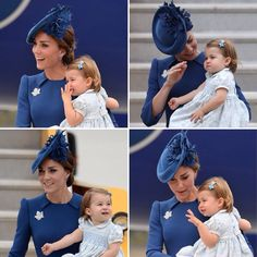 Some lovely moments between Kate and her daughter.                                                                                                                                                                                 More