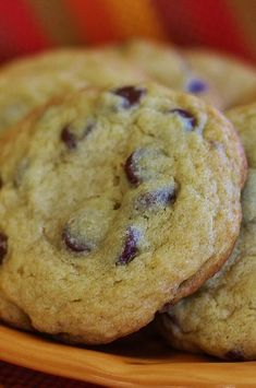 """Chocolate Chip Coffee Cookies 