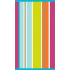 Beach towels - The Linen House - only £12.60 We love this bright pattern - perfect for the summer!