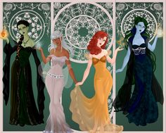 The Witches of Oz by xXDeadlyNightshadeXx on DeviantArt