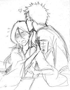 Captain and vice captain Bleach Ichigo And Rukia, Bleach Anime, Aot Funny, Bleach Couples, The Best Damn Thing, Bleach Fanart, Dramione, Manga, Fan Art