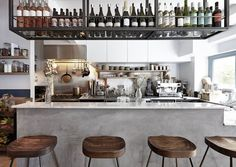 The cosiness of Hygge is embraced at this beautifully-designed Scandi-inflected Neal's Yard restaurant 26 Grains London. Coffee Bar Design, Pub Design, Restaurant Design, Restaurant Bar, Retail Design, Noodle Restaurant, Restaurant Interiors, Cozy Coffee Shop, Coffee Bar Home