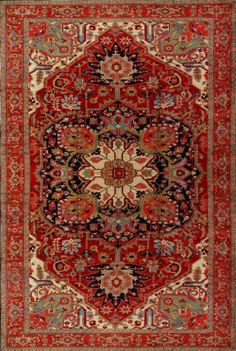 Antique Serapi Rug - 980706 - First Rugs Persian Carpet, Persian Rug, Affordable Rugs, Braided Rugs, Contemporary Area Rugs, Woven Rug, Floor Rugs, Rugs On Carpet, Silk Rugs