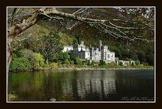 Kylemore Abbey, Ireland...