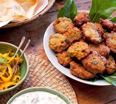 #Recipe of the Week - Vegetable Pakoras (made with beer!) are the perfect half-time snack when you're watching the football... http://www.annabel-langbein.com/recipes/vegetable-pakoras/291/