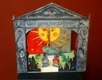 Toy Theatre made for a BBC Simon Schama documentary on the sin of Envy