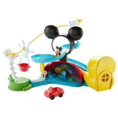 Fisher-Price Disney Mickey Mouse Zip, Slide and Zoom Clubhouse