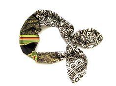 Head Wrap Dolly Bow Headband Bandana Headband Hair #headwrap #bandana #dollybow #hairaccessory
