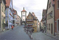 Rothenburg, Deutschland.  Unser nächster Urlaub wird in Deutschland sein.