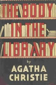 Vintage Agatha Christie cover