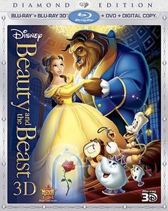 Beauty and the Beast Diamond Edition blu-ray release. We'll need to rewatch this movie before the new live action one with Emma Watson is released!