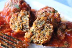 Kennett's Maitake Mushroom Meaty Meatballs
