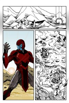 Book one, page three of the Outcast Zero web version comic book. Looking to print before Christmas. http://sweattshop-graphic-artist.blogspot.com/2013/08/book-one-page-three-outcast-zero-comic.html