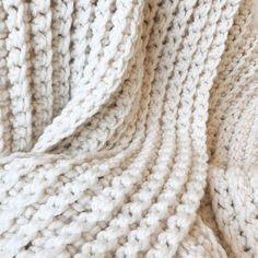 Watch This Video Beauteous Finished Make Crochet Look Like Knitting (the Waistcoat Stitch) Ideas. Amazing Make Crochet Look Like Knitting (the Waistcoat Stitch) Ideas. Afghan Crochet Patterns, Crochet Stitches, Stitch Patterns, Crochet Afghans, Chunky Crochet, Easy Crochet, Crochet Cord, Beginner Crochet, Chunky Wool