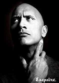 """""""With all the cool s--t and success that I've been lucky enough to get? That doesn't happen unless the home life is solid,"""" Dwayne """"The Rock"""" Johnson tells the August issue of Esquire."""