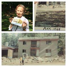 Meet Georgette Sotos. She and her husband George moved into their home at Wessynton in 1968. They have lived there and loved it ever since. How amazing is this photo of their home under construction in 1968? Love it!