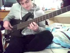 bass cover of Viridian by between the buried and me